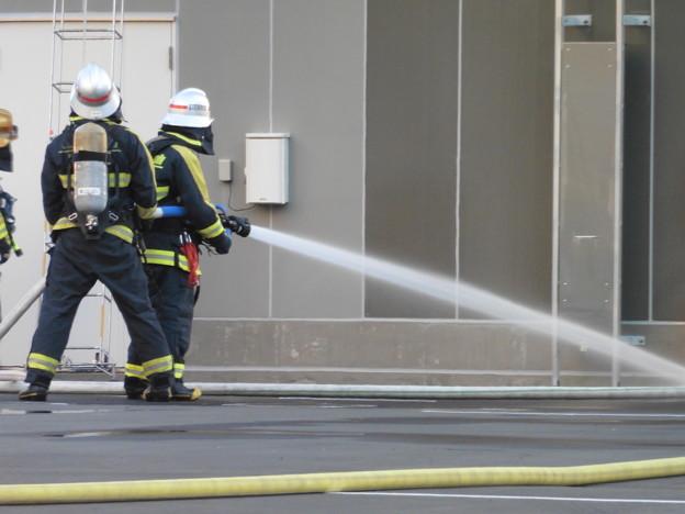 消防隊訓練風景  4