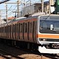 Photos: 1106E 209系千ケヨM73編成 8両