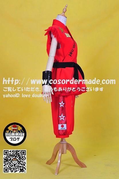 ももいろクローバーZ 男祭り2012道着 赤 (6)
