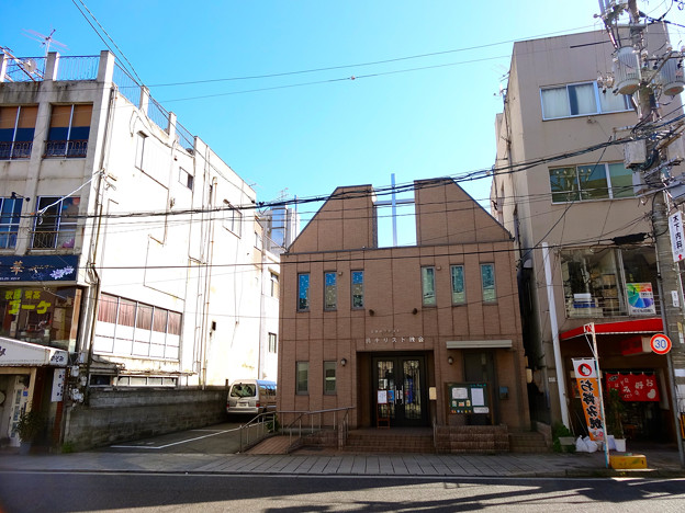 日本バプテスト 呉キリスト教会 baptist church 呉市本通4丁目