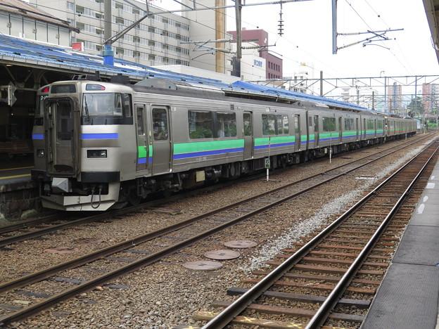 函館本線963D→963M @函館本線 小樽