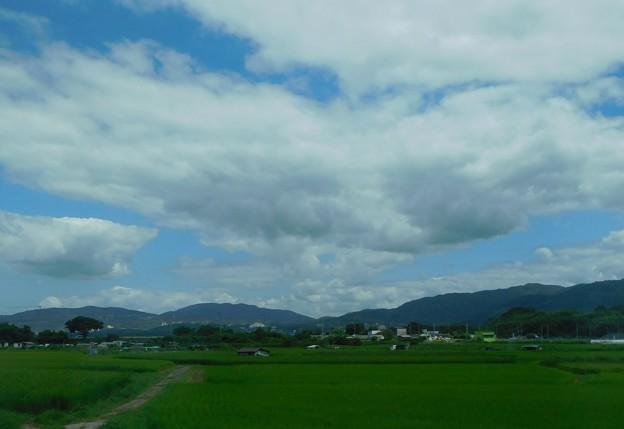 Photos: 三山木駅付近から山吹山方面を望む