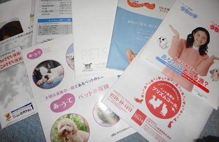 ペット保険は種類も様々