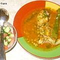 写真: チキン料理