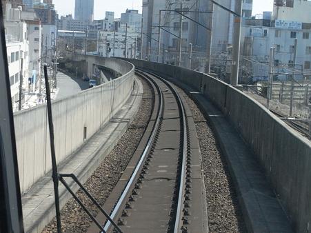 大阪環状線の車窓(弁天町→天王寺)6