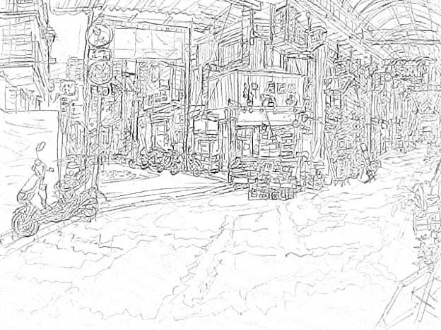 Photos: 空堀商店街2 #sketc...