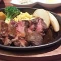 写真: 一汁六菜リゾートランチ 贅沢牛ロースステーキランチ