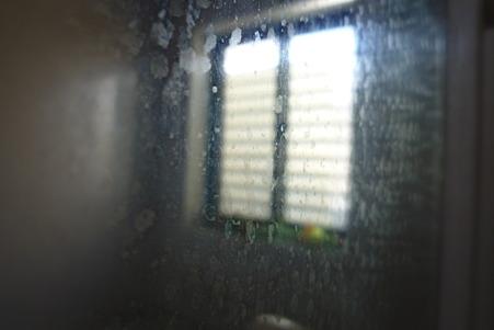 浴室の鏡 (Before)