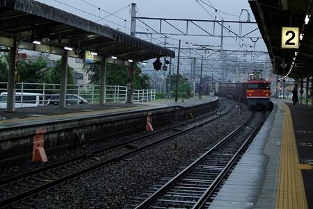 海田市駅にて