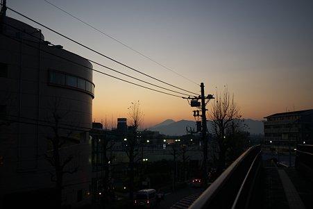 2011.12.29 駅 富士山