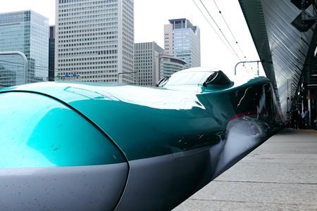2015.07.23 東京駅 20番線ホーム 姫と王子出迎え