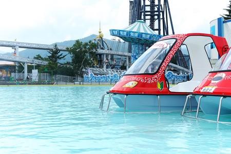 2015.07.30 Fuji-Q 足漕ぎボート