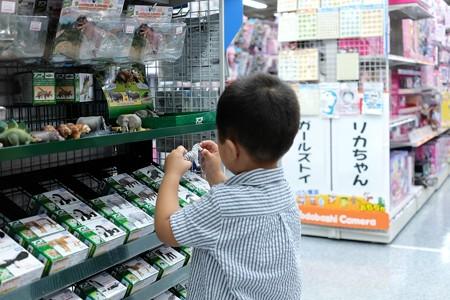 2015.07.31 横浜 ヨドバシカメラ アニアコーナーで王子
