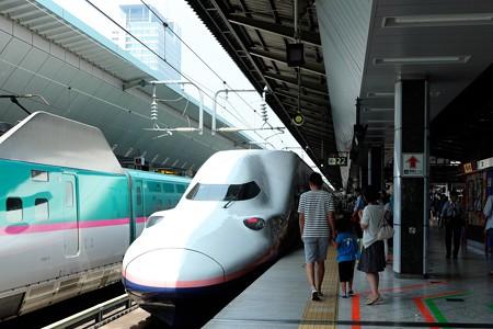 2015.08.01 東京駅 22番線ホーム
