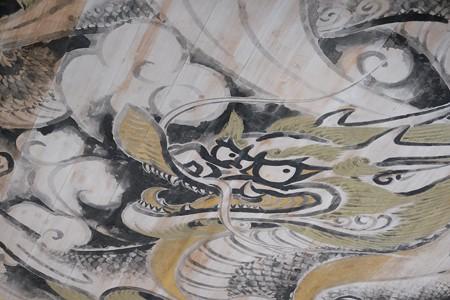 2015.08.09 円覚寺 仏殿 白龍の図
