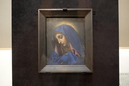 2015.08.15 東京国立博物館 聖母像(親指のマリア) イタリア長崎奉行所旧蔵品