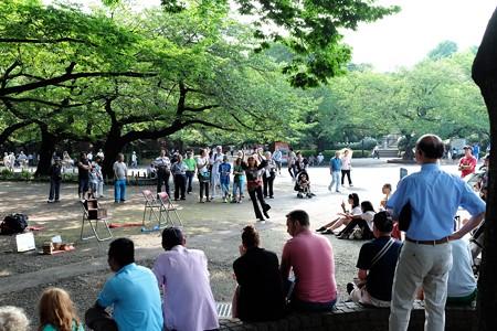 2015.08.15 上野公園 路上パフォーマンス
