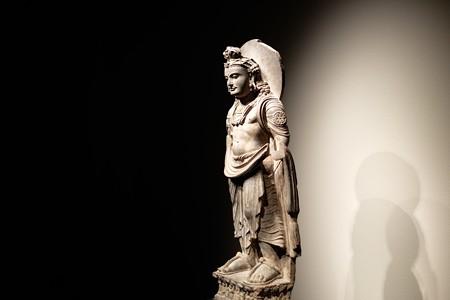 2015.08.15 東京国立博物館 菩薩立像 パキスタン・ガンダーラ TC-81