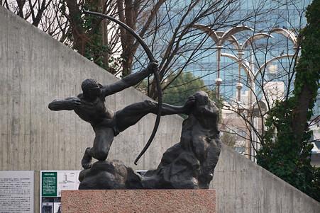 2011.02.06 国立西洋美術館 弓を引くヘラクレス オーギュスト・ロダン