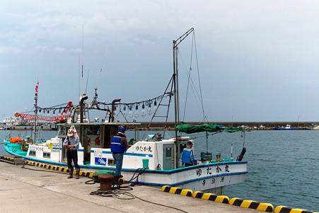 2011.07.25 越後 寺泊港 つり船