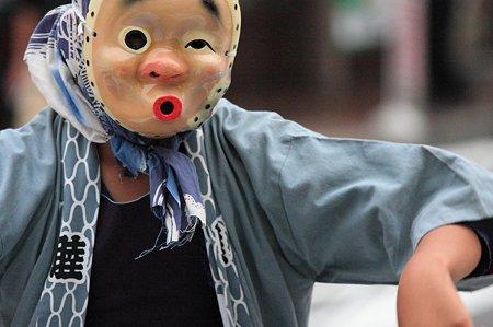2011.08.07 富士 甲子祭 ひょっとこ踊りは男の子