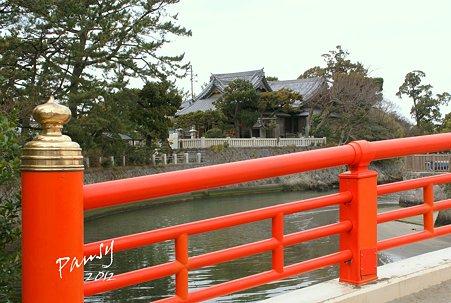 みそぎ橋より・・森戸神社・・6