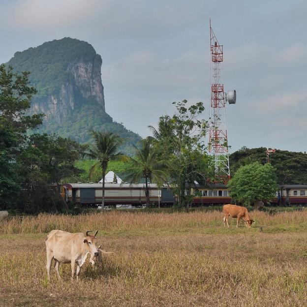 BCT.1001?、Khao Chum Thong Junction、タイ国鉄