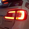 レヴォーグ 東京都 テールLEDバージョン2取付 ブレーキ時 点灯状態
