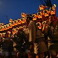Photos: 夕暮れの神輿まつり!(110709)
