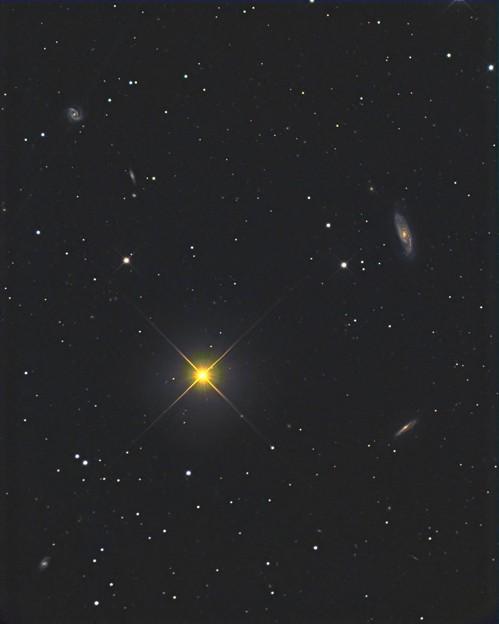 NGC5899付近