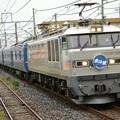 EF510銀釜509号機牽引北斗星号8007レ雀宮1番通過!