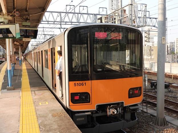 東武50000系急行南栗橋行き