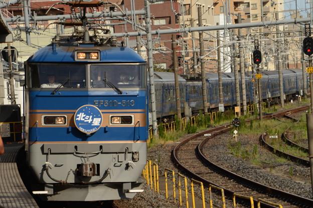 Photos: EF510-513牽引北斗星号お見送り♪