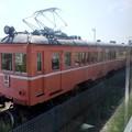 一畑電車デハ6+デハ3静態保存 大社線高浜付近走行の5000系車内から