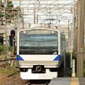 E531系K407編成常磐線432M友部1番進入