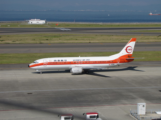Photos: B737-400 南西航空復刻