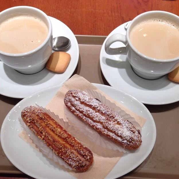 ザクレアでお茶タイム