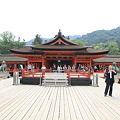 110516-57四国中国地方ロングツーリング・厳島神社・高舞台と本殿