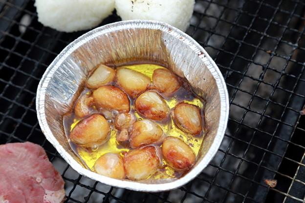 ニンニクオリーブオイル焼き