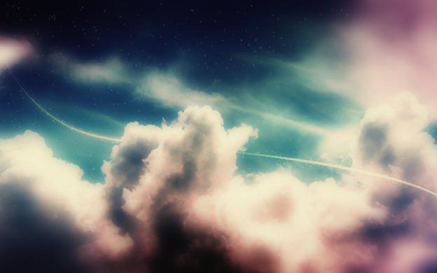 Photos: Starlit Sky and Cloud