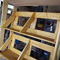 Photos: 2×4で書類棚 作成