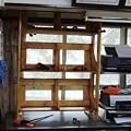 Photos: 2×4で書類棚 作成 設置