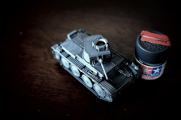 ドイツ軽戦車 38(t) E/F型