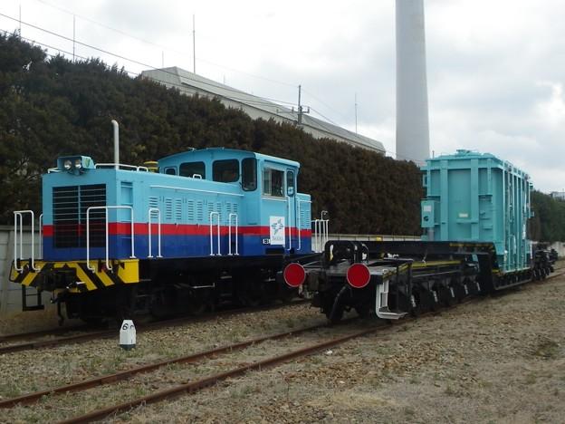 高岳1号機関車&シキ180(変圧器積載)