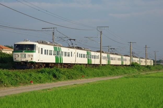 185系大宮車B2編成 回送列車