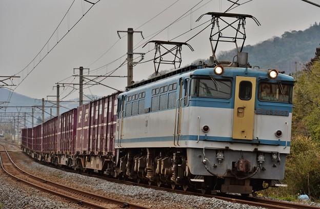 3075レ EF65 2127+コキ8B(1)