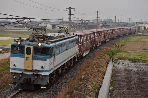 3074レ EF65 2127+コキ8B