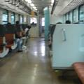 Photos: Kiha-E120 interior soft focus