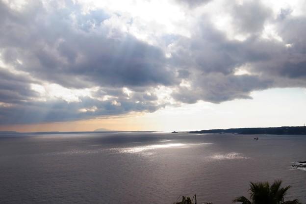 海とスポットライト