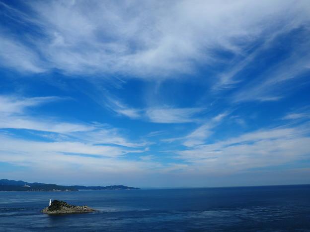 お茶園展望台から太平洋側
